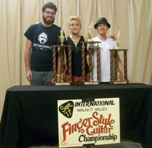 Christie Wins 2017 International Finger Style Guitar Championship!